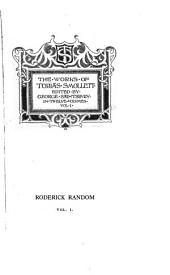 The Works of Tobias Smollett: Roderick Random, 1895-1900