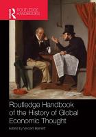 Routledge Handbook of the History of Global Economic Thought PDF