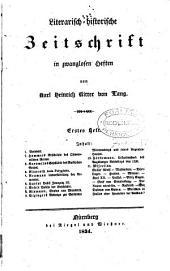 Literarisch-historische Zeitschrift, von K.H., Ritter von Lang