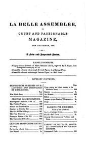 La Belle assemblée: or, Bell's court and fashionable magazine