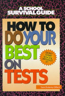 How to Do Your Best on Tests PDF