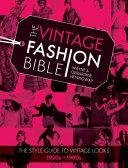 The Vintage Fashion Bible PDF