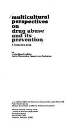 Multicultural Perspectives on Drug Abuse and Its Prevention PDF