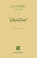 Hume, Hegel and Human Nature