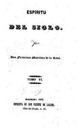 Espiritu del siglo: Volumen 6