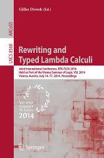 Rewriting and Typed Lambda Calculi