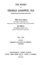 The Works of Thomas Goodwin: Volume 12