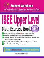 ISEE Upper Level Math Exercise Book