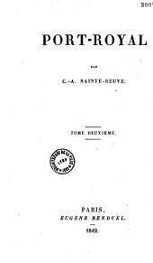 Port-Royal. - Paris, Renduel 1840-42