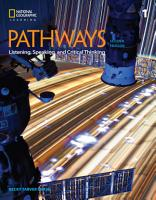 Pathways  Listening  Speaking  and Critical Thinking 1 PDF