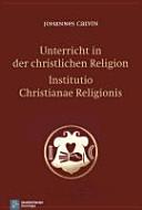 Unterricht in der christlichen Religion PDF