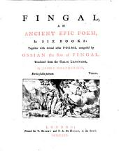 Fingal: Together with several other poems