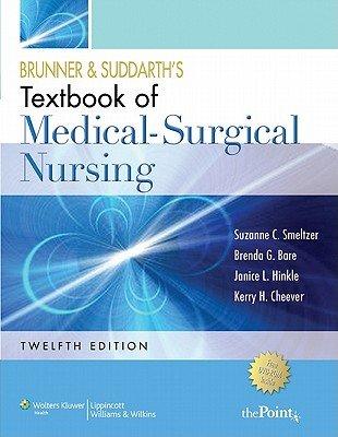 Download Brunner   Suddarth s Textbook of Medical surgical Nursing Book