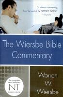 The Wiersbe Bible Commentary  New Testament PDF