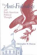 The Anti federalists and Early American Political Thought PDF