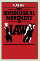 The Sociological Movement in Law PDF
