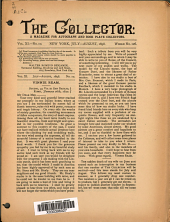 The Collector: A Monthly Magazine for Autograph and Historical Collectors, Volume 11, Issue 10