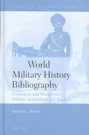 World Military History Bibliography PDF
