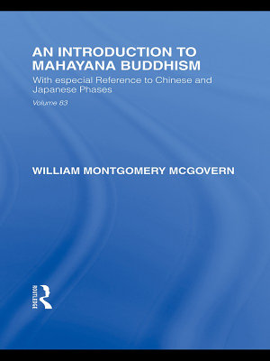 An Introduction to Mah  y  na Buddhism PDF