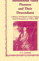 Shenandoah Valley Pioneers and Their Descendants PDF
