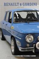 Renault 8 Gordini History