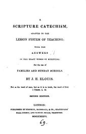 A Scripture catechism. [With] Key