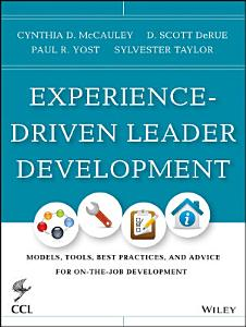 Experience Driven Leader Development Book