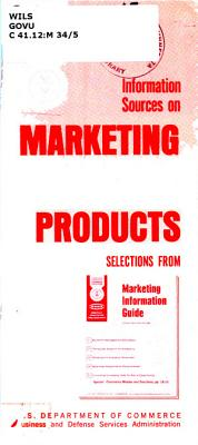 Information Sources on Marketing New Products