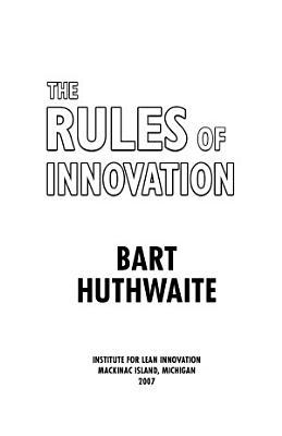 Rules of Innovation PDF