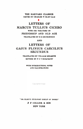 Letters of Marcus Tullius Cicero: with his treatises on friendship and old age