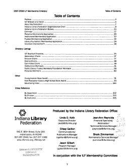 Membership Directory and Handbook PDF