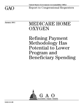 Medicare Home Oxygen: Refining Payment Methodology Has Potential to Lower Program and Beneficiary Spending