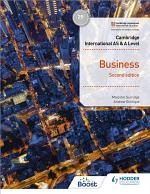 Cambridge International AS & A Level Business Second Edition