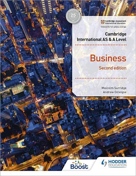 Cambridge International AS   A Level Business Second Edition PDF