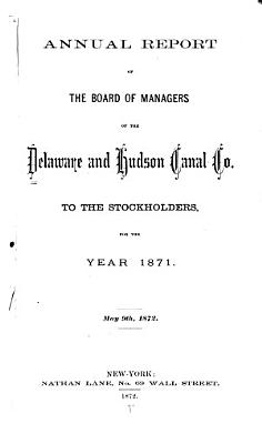 Annual Report of the Board of Managers to the Stockholders PDF