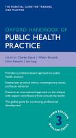 Oxford Handbook of Public Health Practice PDF