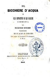 Il bicchiere d'acqua o Gli effetti e le cause commedia di Eugenio Scribe