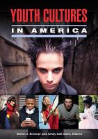 Youth Cultures in America  2 volumes  PDF