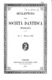 Bullettino della Società dantesca italiana: Edizioni 1-4