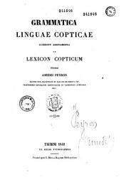 Grammatica linguae Copticae