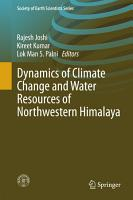 Dynamics of Climate Change and Water Resources of Northwestern Himalaya PDF