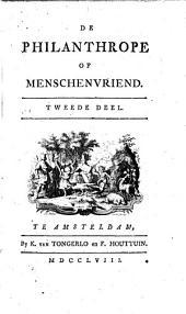 De philanthrope of menschenvriend: Volume 2