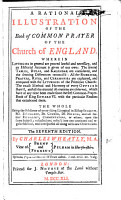 A Rational Illustration of the Book of Common Prayer of the Church of England     The seventh edition PDF