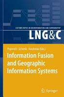 Information Fusion and Geographic Information Systems PDF