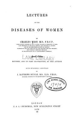 Lectures on the Diseases of Women PDF