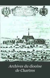 Archives du diocèse de Chartres: Volume14