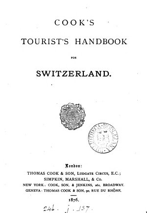 Cook s tourist s handbook to Switzerland