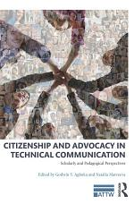 Citizenship and Advocacy in Technical Communication