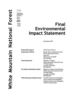 White Mountain National Forest  N F    Forest Plan Revision  Proposed Land and Resource Management Plan PDF