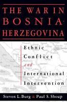The War in Bosnia Herzegovina PDF